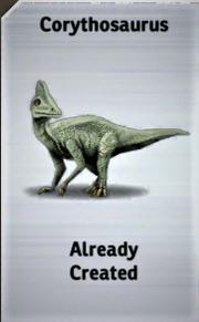 Corythosaurus Card JPB
