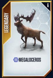 Megaloceros New Card