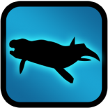 Basilosaurus wall icon