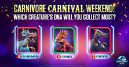 Carnivore Carnival Question