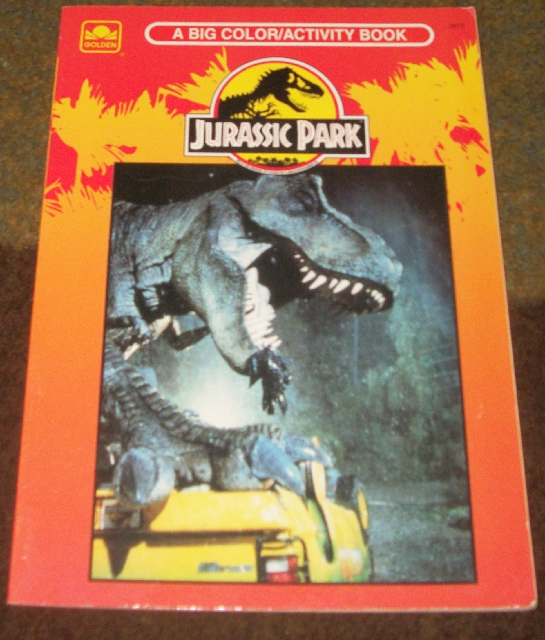 Jurassic Park A Big Color Activity Book