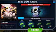 World Event Rampage-Sarkastodon