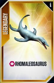 Rhomaleosaurus Card