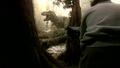 Jurassic Park III - T. rex animatronic BTS - 00011