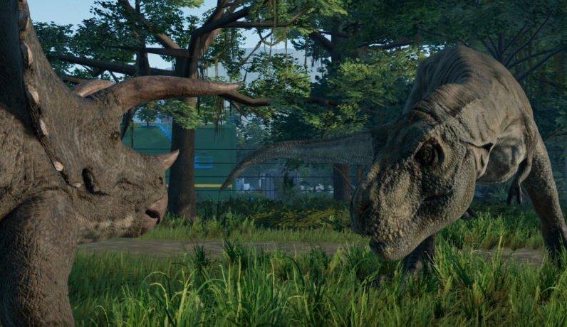 Jurassic World Evolution Gameplay Screenshot