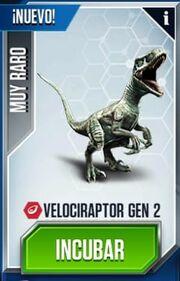 Velociraptor Gen 2