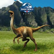 Gallimimus Feature JWA