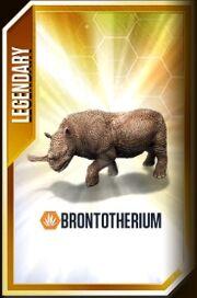 Brontotherium-card