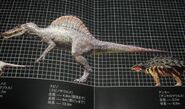 Spinosaurus Japanese Poster