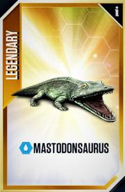 Mastodonsaurus Card