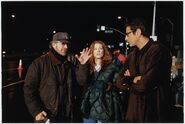 TLW behind the scenes Spielberg, Julliane Moore and Jeff