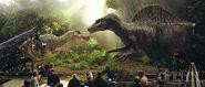 T-Rex Spinosaurus