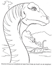 Official Coloring pages from The Lost World: Jurassic Park