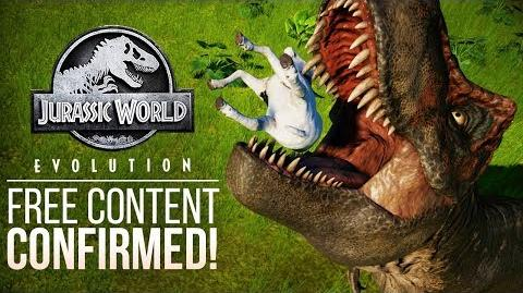 FREE CONTENT UPDATE CONFIRMED! Jurassic World Evolution Developer Updates