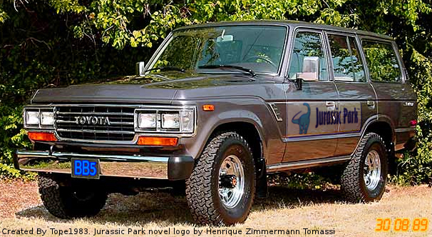 Superb A 1988 Or 1989 Toyota Land Cruiser J62 Was Probably Used As A Tour Vehicle  In The Novel.