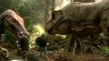 Jurassic Park III - T. rex animatronic BTS - 00007