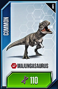 Majungasaurus Card
