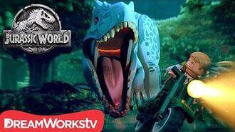 FULL EPISODE Indominus Escape! LEGO JURASSIC WORLD-0