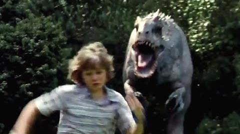 video jurassic world movie clip indominus rex chase