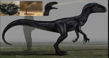 Indoraptor Snake concept art