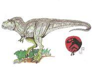 Jp tyrannosaurus rex by hellraptor-d61u7n6