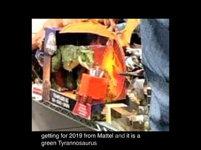 Leaked Mattel Green T. rex