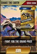 Shake the Earth (Acrocanthosaurus)