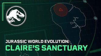 Jurassic World Evolution Claire's Sanctuary Out Now
