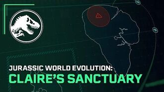 Jurassic World Evolution Claire's Sanctuary Out Now