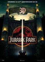 Affiche Jurassic Park (FRANÇAIS) 2