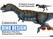 Carnotaurusdinodesign