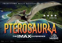 Jurassic World IMAX Banner