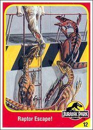 RaptorElectronic velociraptor collector card