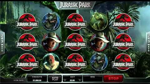 Jurassic Park Slot 1st Look from DazzleCasino