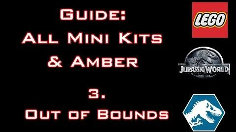 """LEGO Jurassic World - Guide All Mini Kits & Amber """"Out of Bounds"""" - Commented"""