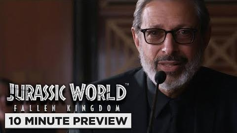 Jurassic World Fallen Kingdom 10 Minute Preview Own it 9 4 on Digital