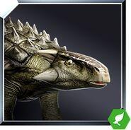 Ankylosaurus icon JW
