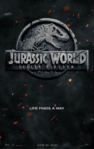 ファイル:Jurassic World II Teaser Poster.jpg