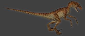 Velociraptor tlw psx