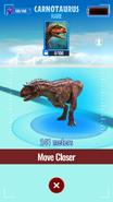 Carnotaurus Map