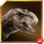 Tyrannosaurus icon JW