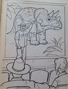 Jurassic Park A Coloring Book 2