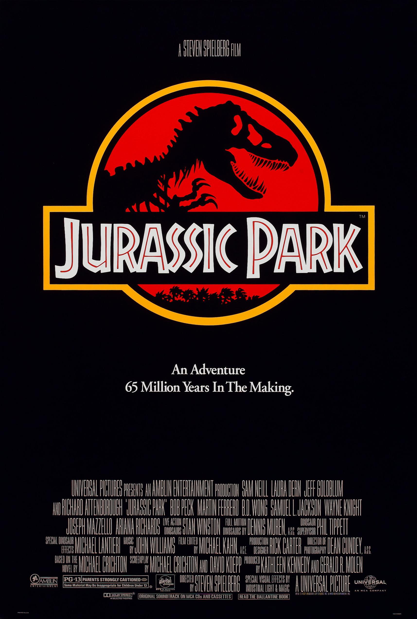 Jurassic Park Film Jurassic Park box sets