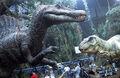 Jurassic Park III - T. rex animatronic BTS - 00002