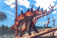 Stegosaurus skrepnick