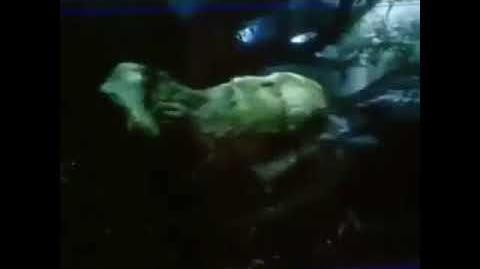 Tyrannosaurus rex vs Spinosaurus (Extended) Jurassic Park 3-0