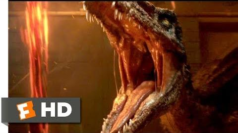 Jurassic World Fallen Kingdom (2018) - Trapped with a Dinosaur Scene (3 10) Movieclips