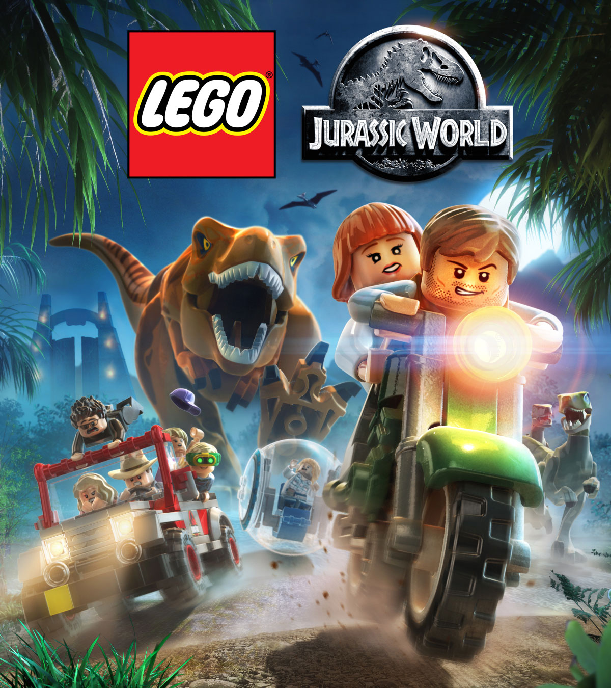 Lego Jurassic World Game Jurassic Park Wiki Fandom Powered By