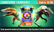 Carnivore Carnival Offer