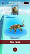 Kaprosuchus Map